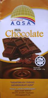 AQSA Milk Chocolate