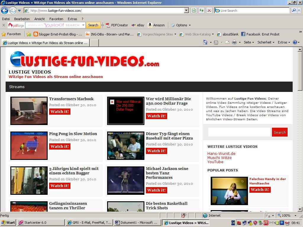 Lustige Bilder Kostenlos Anschauen - Kostenlose Videos, lustige Videos und aktuelle Kino Trailer