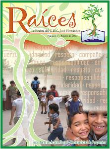 """Revista """"RAICES"""" del CDC José Hernández"""