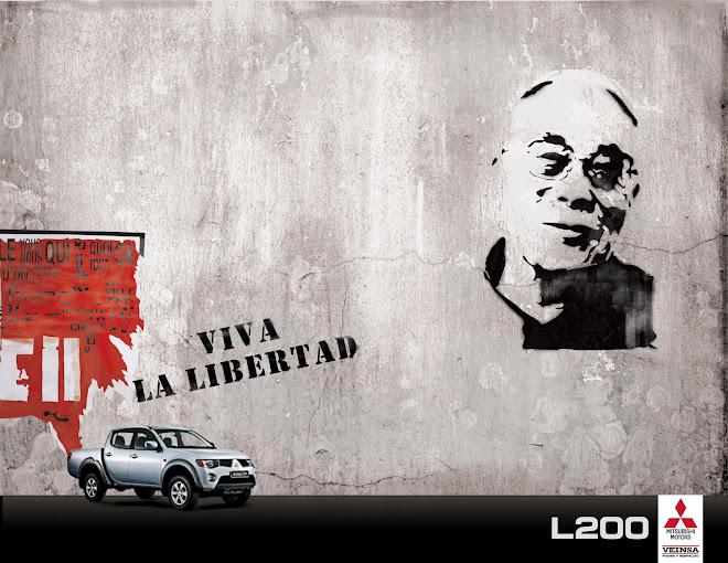 Dalai Lama (Campaña Viva La Libertad L200 Mitsubishi)