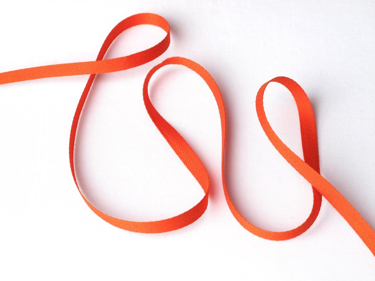 les nouveaut s au jour le jour chez stragier ruban serg 4440 orange. Black Bedroom Furniture Sets. Home Design Ideas