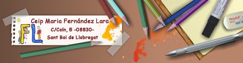 Escola Mª FERNÁNDEZ LARA