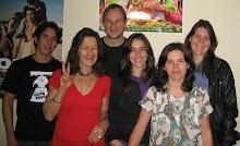 A equipe da Coordenação Internacional