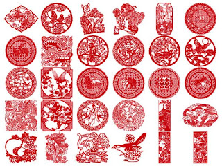 China ornaments vector