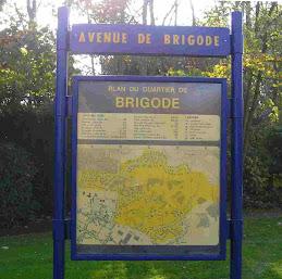 Plan du quartier Brigode