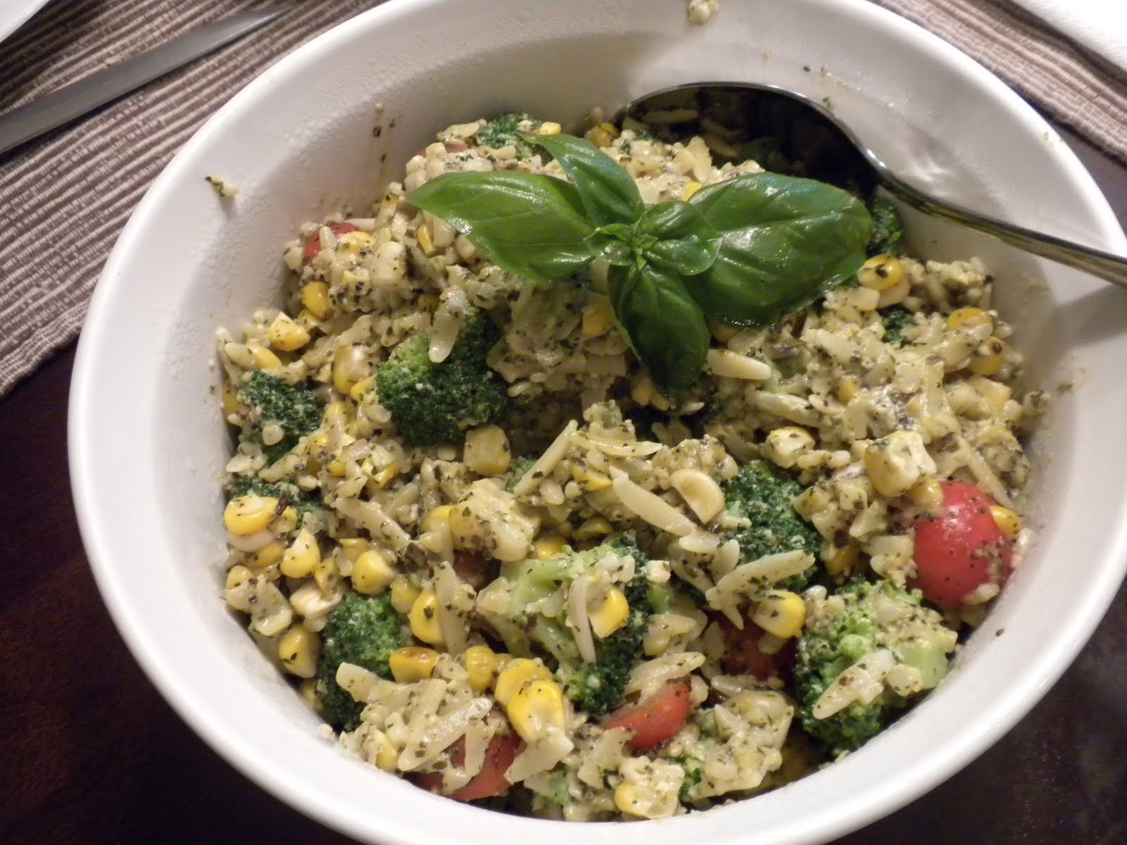 related recipes whole wheat orzo broccoli pesto salad with lemon creme ...