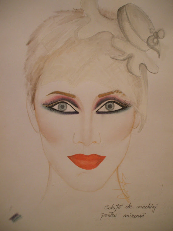 make-up sketch