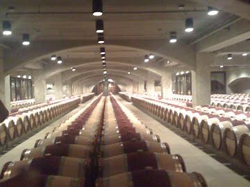 Wine Barrell Storage