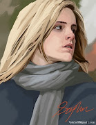 Digital painting of Emma watson. Posted by Stephen Tsai at 4:20 PM emma watson