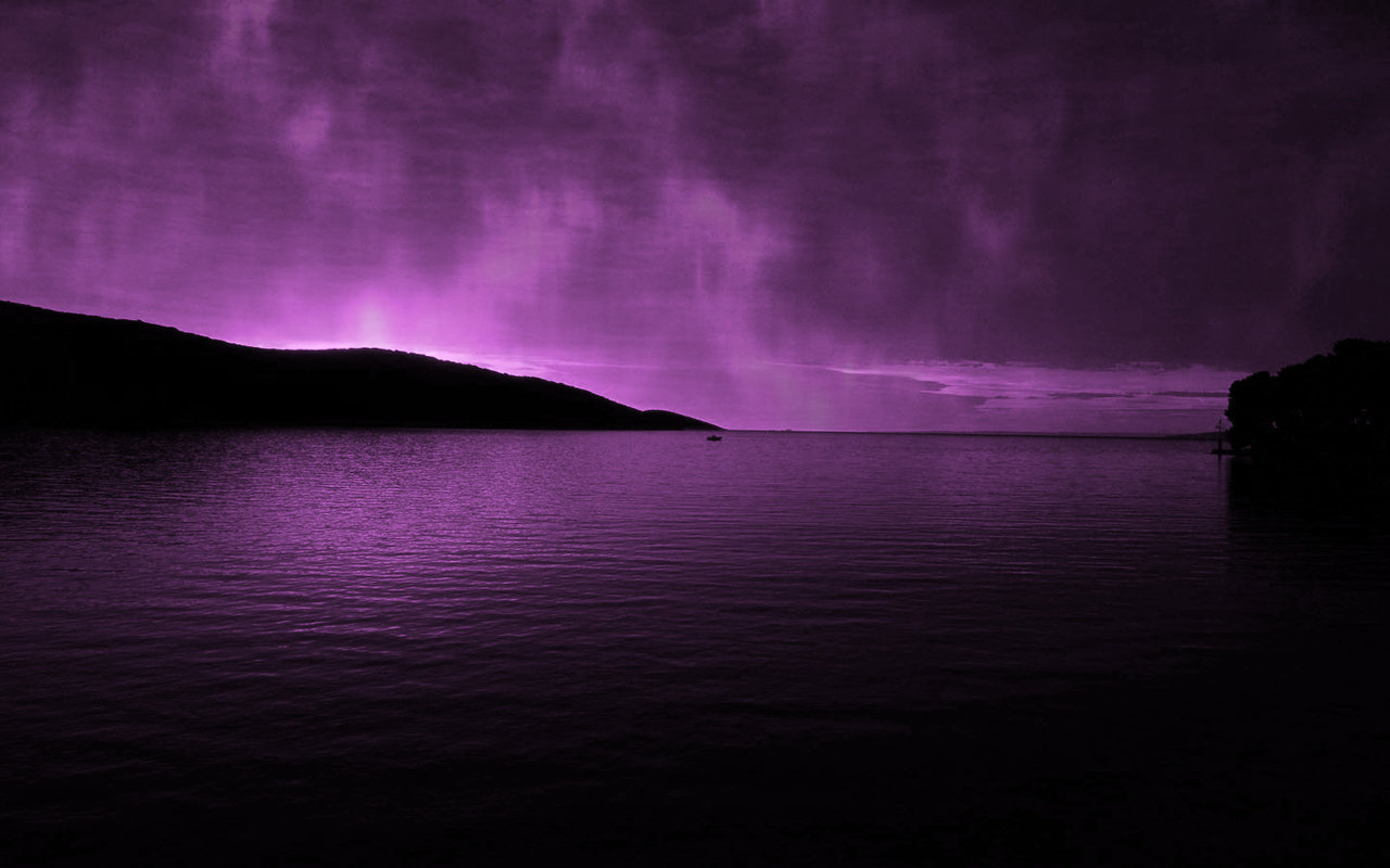 purple aurora borealis wallpapers x - photo #22