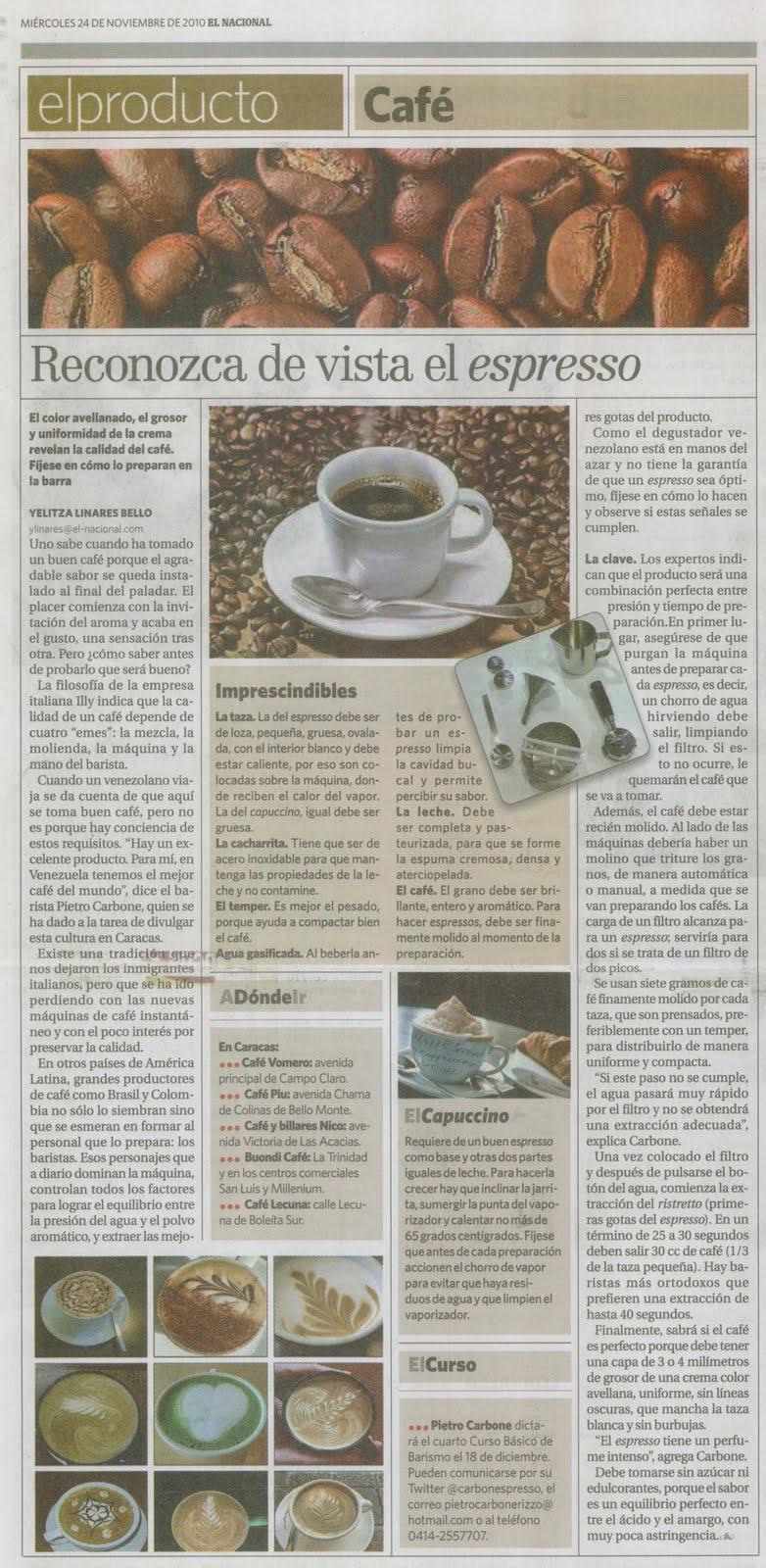 El Nacional 24-11-2010