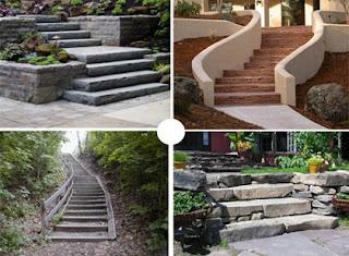 cipta alamanda tangga batu alam