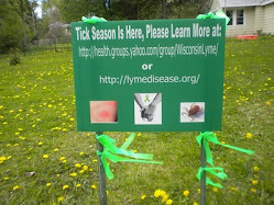 Don't forget May is Lyme Disease Awareness Month!