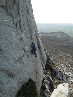 Andy McQue, Andrew McQue, Holyhead Mountain, Climbing, Breaking the Barrier