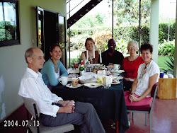 Christmas breakfast wth friends