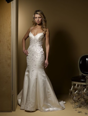 This one isn 39t exactly a shocker but I love the mermaid trumpet style gown