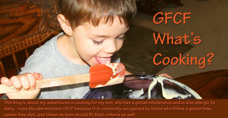GFCF What's Cooking?