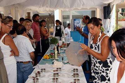 Martino Ragusa spiega la preparazione della tartare