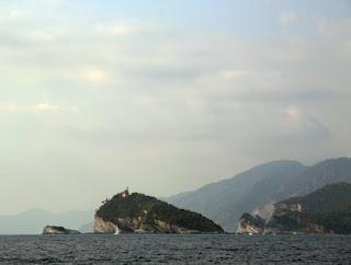 l'isola del Tino e l'isola di Palmaria