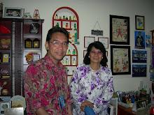 Prof Madya Hjh. Zuraidah Abd. Rahman di bilik saya