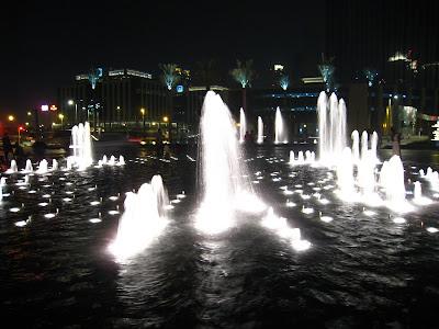 Outside Burj Khalifa, Dubai