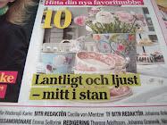 Vårt hem i Aftonbladet Härligt Hemma