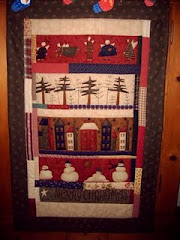 Weihnachtsquilt 2007  -   Christmas Quilt 2007