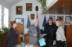 Elvira Cemortan-Volosin, Presedintele ARTELIT la negocierea proiectului GOLD HELIOS