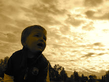 My artsy fartsy photo of Jack at the pumpkinpatch