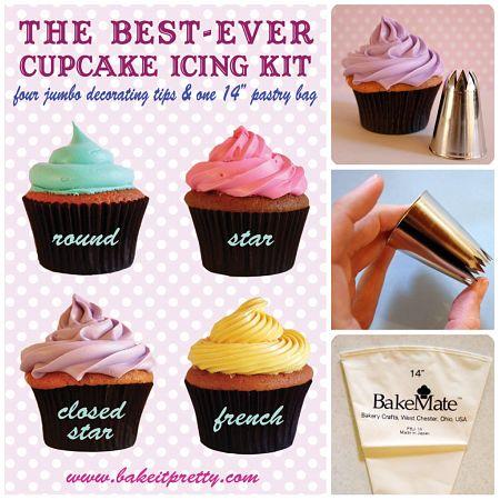 Amanda's Best Ever Cupcake Icing Kit