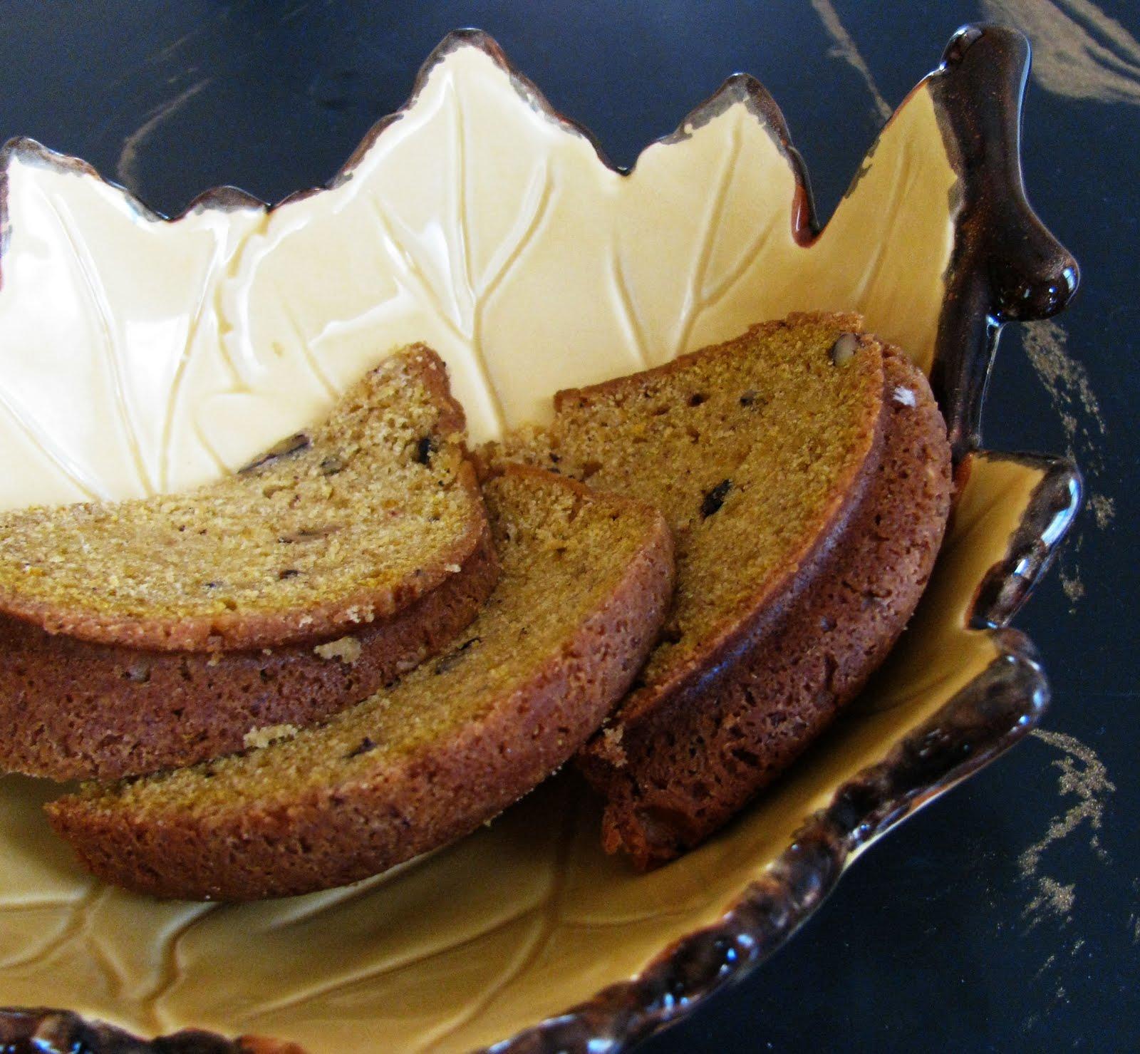 Maple Pecan Pumpkin Bundt Cake