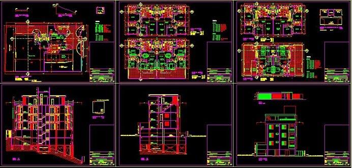 Desenhos técnicos em AUTOCAD