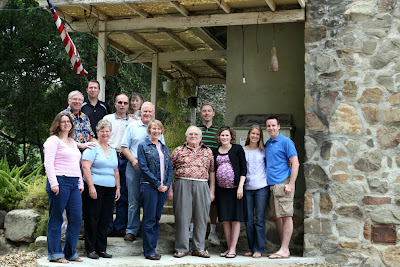 A pretty good family photo take here including the 1st/2nd generations of the Hanscom clan.