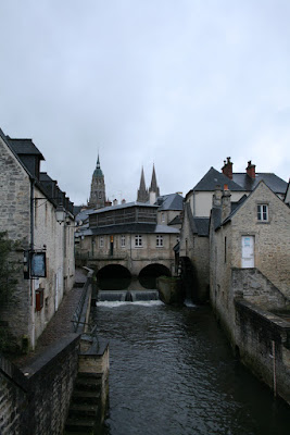 The best view in Bayeux, France according to Olivier.