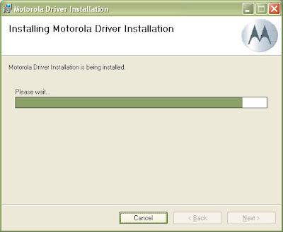 Motorola Handset USB Driver v2.7.6 Install 3