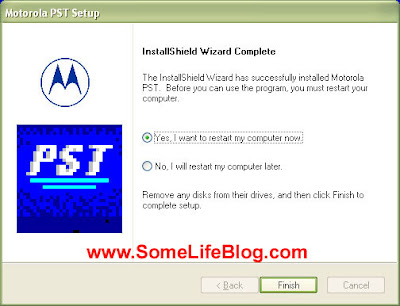 Motorola Phone Support Tool PST Phone Programmer Install Picture 3