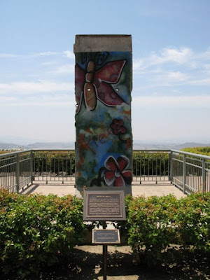 Berlin Wall at Ronald Reagan's Presidential Library