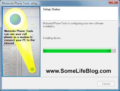 Motorola Phone Tools version 4.5 MPT Installation Guide Picture 5