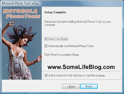 Motorola Phone Tools version 4.5 MPT Installation Guide Picture 9