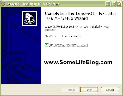 Final of the installation of free p2k software and drivers for Motorola with LeaderGL FlexEditor 10.8