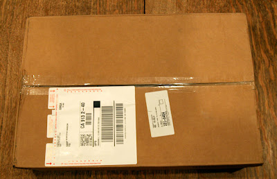 The Nintendo Wii Fit and Balance Board hidden inside the Amazon.com shipping box