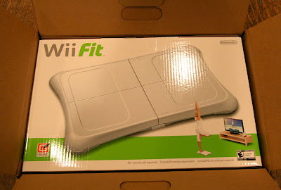 Amazon appears have manufactured custom shipping boxes for the Wii Fit.