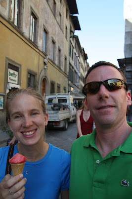 What better way to spend an afternoon in Florence than enjoying a gelato ice cream while roaming the streets?