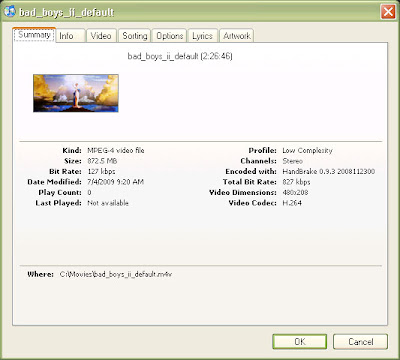 Conversion of a full movie dvd files to a MP4 / MPV video for the iPhone and iPod Touch