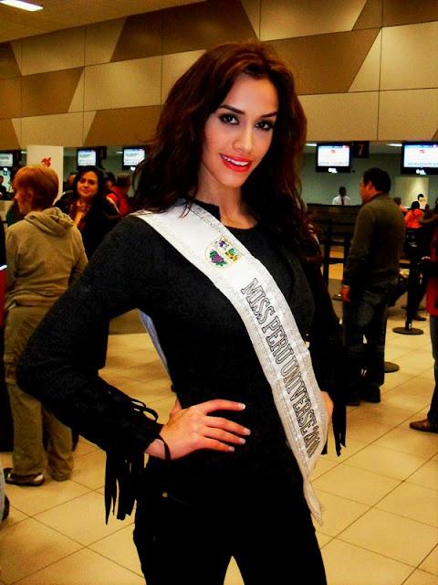 Miss Perú Universe 2010, rumbo a Las Vegas
