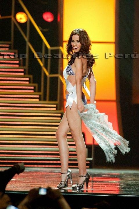 Miss Perú Universe 2010 en Preliminares