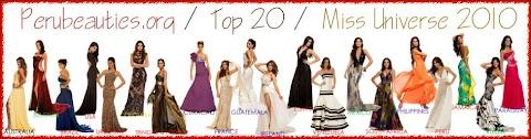Predicción / Top 20 / Miss Universe 2010