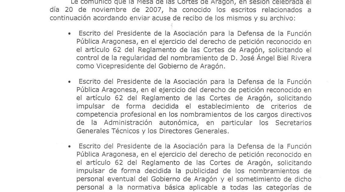 Asociación para la Defensa de la Función Pública Aragonesa: La Mesa ...