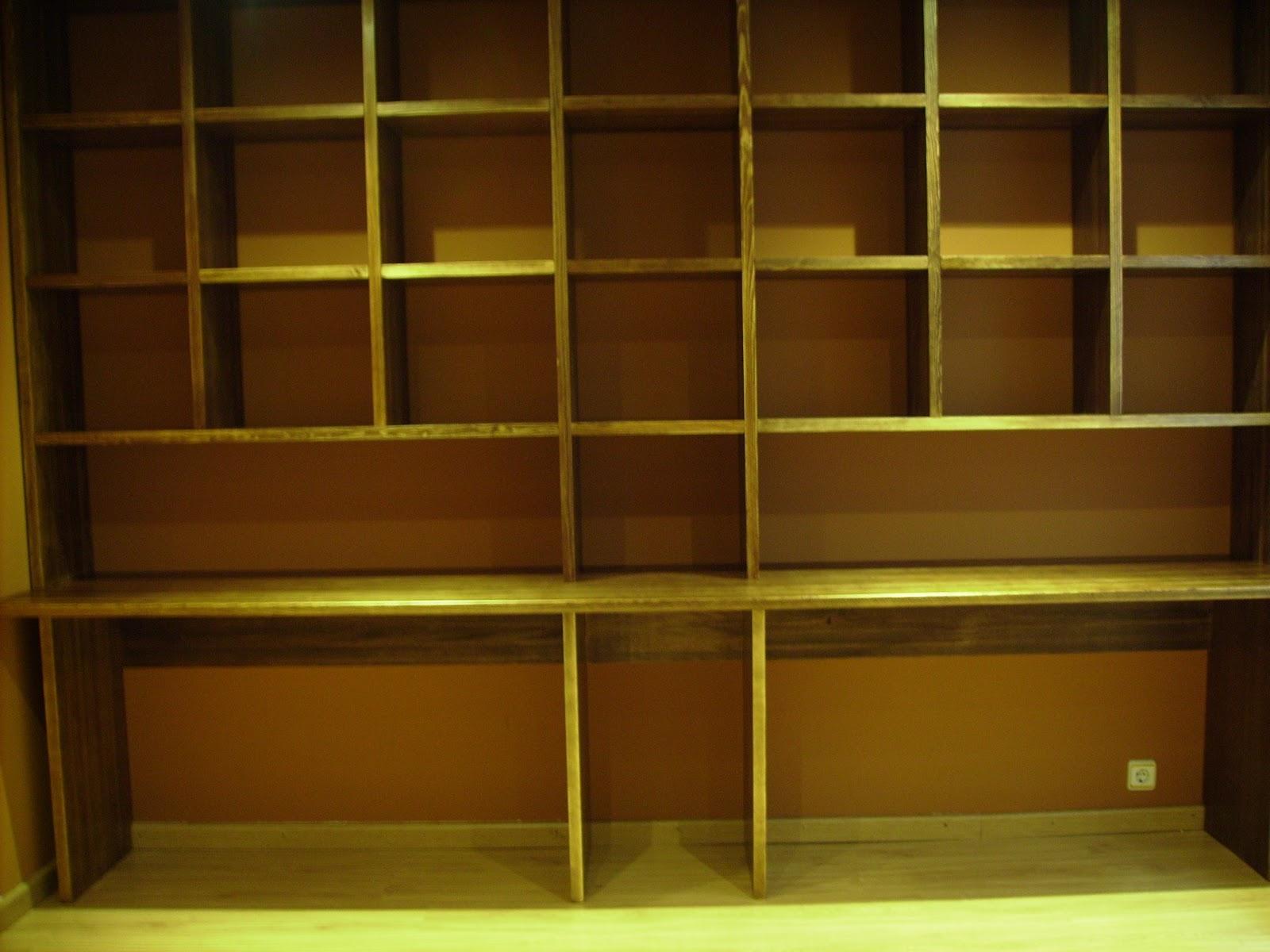Estanteria de madera maciza - Estanteria madera maciza ...