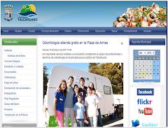 En la página de la I.Municipalidad de Talcahuano
